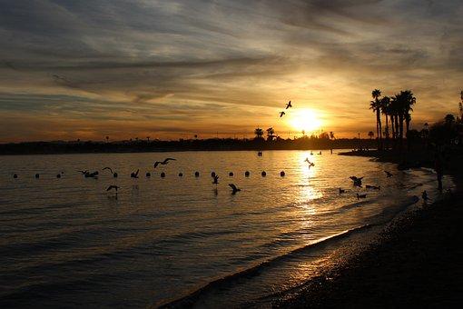 Sunset, Arizona, Lake