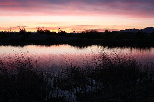 Sunset, Arizona, Landscape