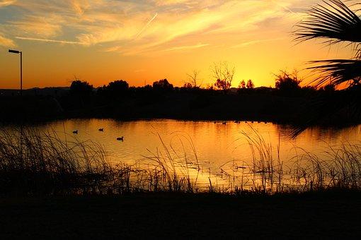 Sunset, Arizona, Water