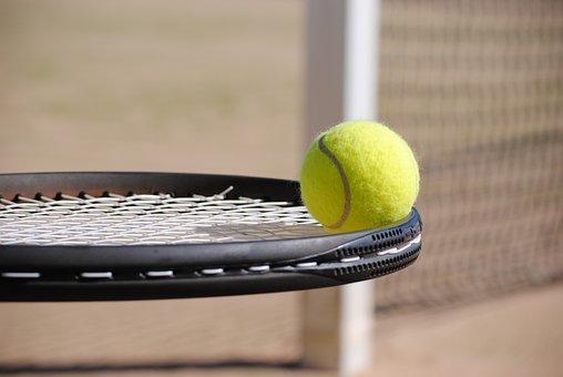 Tennis, Ball, Tennis Court, Tennis Ball, Sport, Bat