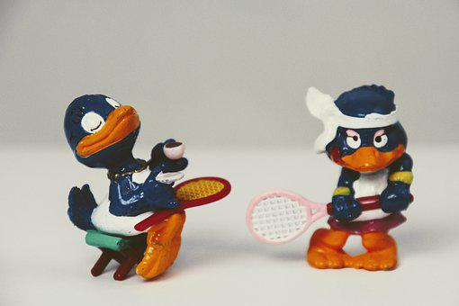 überraschungseifigur, Peppy Pingu, Tennis, Collection