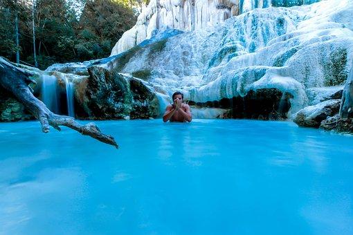 Thermal, Bath, Water, Spa, Wellness, Relax, Man, Pool