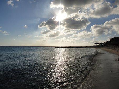 Beach, Sunset, Hawaii