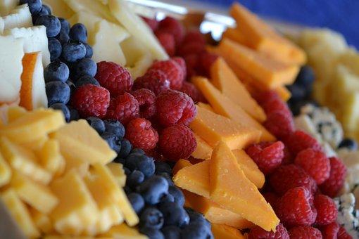 Breakfast, Cheese, Part Tray