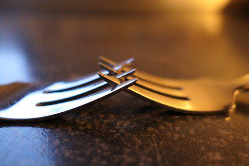 Fork, Cake Fork, Cutlery, Metal, Metal Fork, Small Fork
