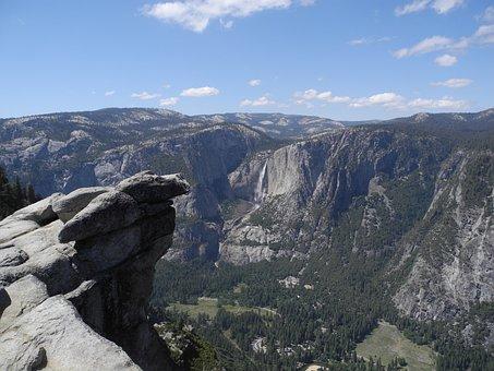 Yosemite, Usa, Park, National, California, Mountain