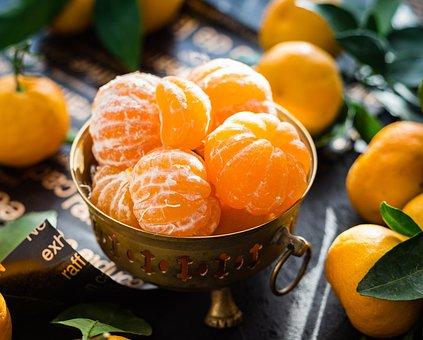 Mandarins, Fruit, Citrus, Sunlight, Useful, Food, Tasty