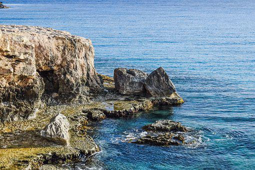 Coastline, Rocky, Coast, Nature, Cliff, Rocks, Erosion