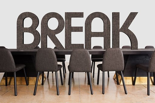 Conference, Break, Interruption, Team, Office
