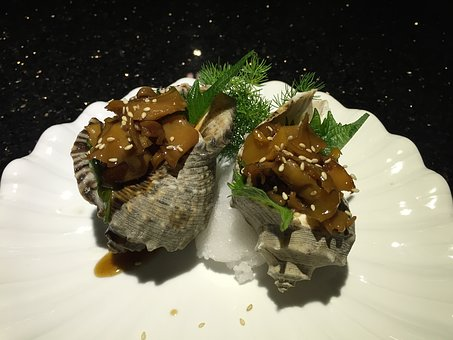 Seafood, Shell Food, Exquisite, Gourmet, Conch