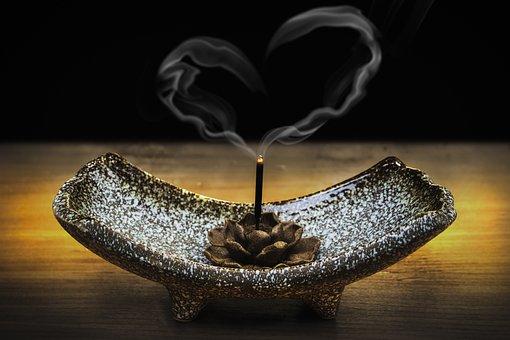 Incense, Smoke, Love, Loving-kindness, Metta, Heart