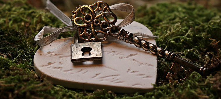 Love, Heart, Key, Castle, Key To The Heart