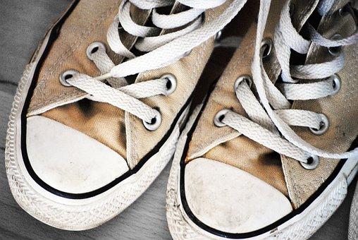 Chuck's, Converse, Shoes, Sneaker, Shoelace, Leisure