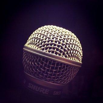 Microphone, Micart, Music, Art, Micro, Recording, Sound