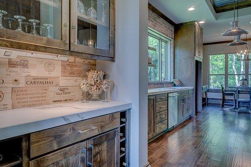Kitchen, Interior, Luxury, Home, Modern, Design