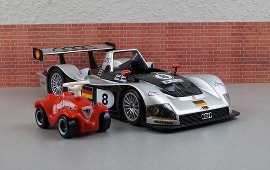 Model Car, Audi, R8r, Bobby Car, Model, Auto, Oldtimer