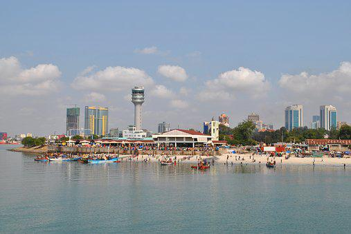 Tanzania, Dar Es Salaam, City, Capital, Port, Africa