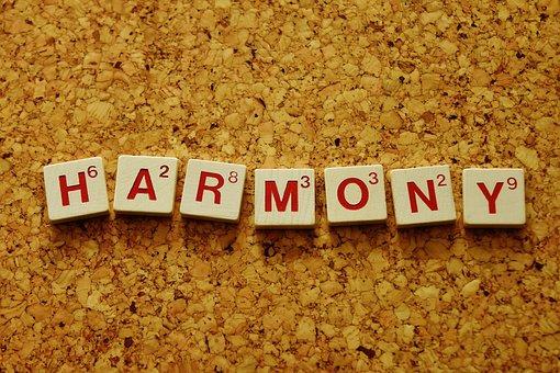 Harmony, Line, Satisfaction, Balance, Regulation, Unity