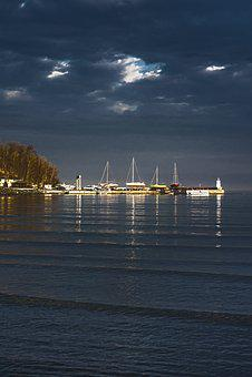 Primorsko, Port, Harbour, Bulgaria, Sea, Coast, Harbor
