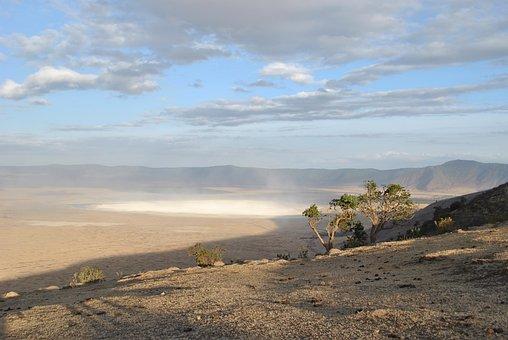 Crater, Ngorongoro, Serengeti, Africa, National Park