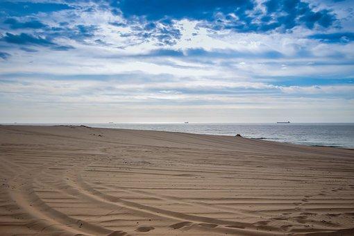 Beach, Desert, Ocean, Nature, Coast, Sea, Sun, Summer