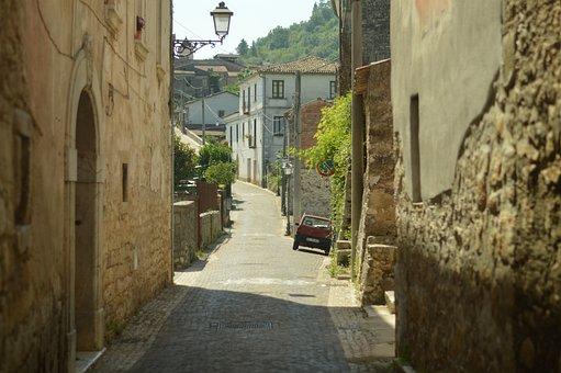 Italian, Italy, Street, Town, Old, Vintage, Tourism