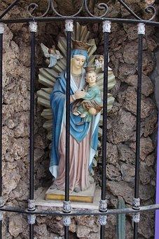 Virgin, St, Catholic, Religion, Santos, Chapel