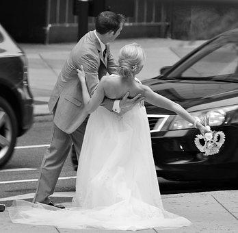 Wedding, Bride And Groom, Wedding Photo, Love