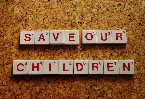 Protect Our Children, Font, Words, Letters, Text