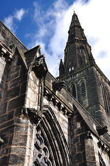 Scotland, Glasgow, The Cathedral, Church, Architecture