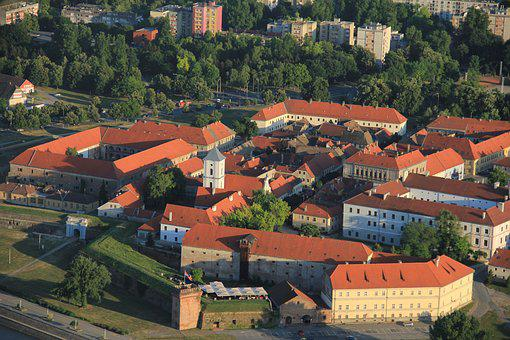 Old Town, Osijek, Tvrđa, Fortress, Architecture, City