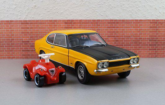 Model Car, Ford, Ford Capri, Capri, Bobby Car, Model