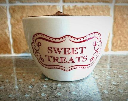 Ceramic Bowl, Sweet Treats, Treat Bowl