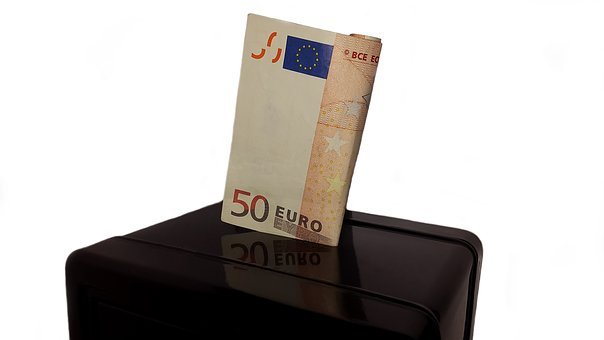Save, Money, Piggy Bank, Finance, Coins, Euro