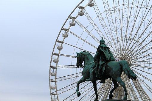 Eat, Ferris Wheel, Ruhr Area, North Rhine Westphalia