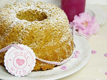 Cake, Guglhupf, Bowl Cake, Bake, Made With Love