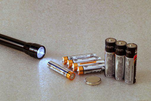 Batteries, Energy, Ecology, Battery, Light, Current