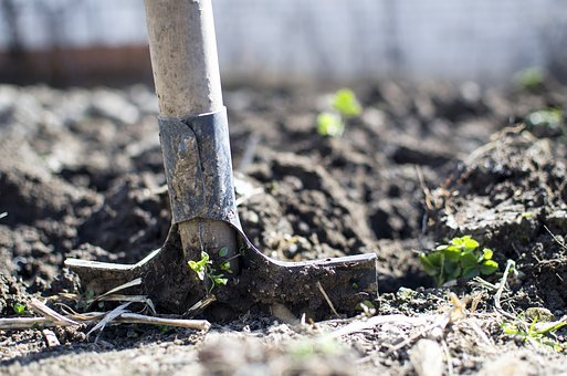 Equipment, Outdoors, Dirt, Dig, Farming, Garden, Nature