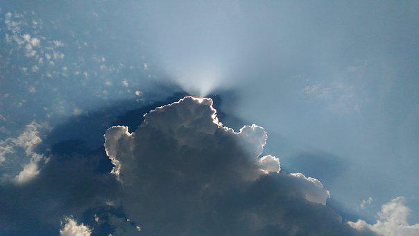 Clouds, Sky, Sun, Cloudy, Sunlight, Ray, Consult