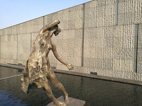 Tragedy, Nanjing, Sculpture