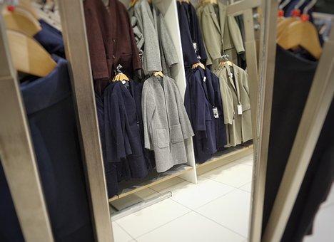 Shopping Shop, Wear, Clothes, Mirror