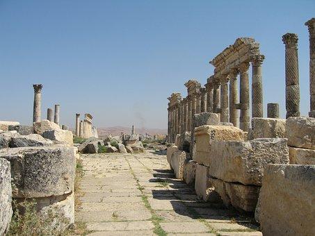 Thistle, Apamea, Syria