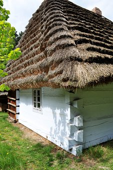 Old, Wood, Cottage, Building, Wall, Rotten, Spróchniały