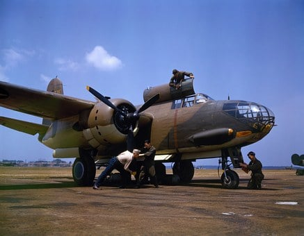 Bomber, Battle Bomber, Aircraft, Douglas, A 20 C Bo