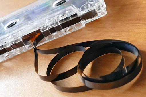 Tape, Cassette, Retro, Sound, Music, Audio