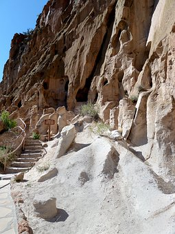 Bandelier National Monument, New Mexicoe, Usa