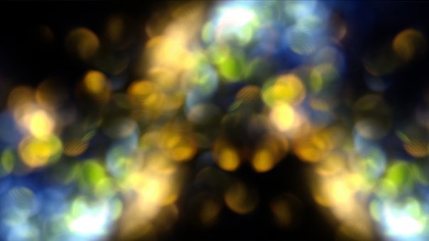 Brilliantine, Brightness, Particles, Blur, Bokeh