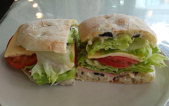 Chi Avatar, Sandwich, Food, Snack, Bread, Cheese, Ham