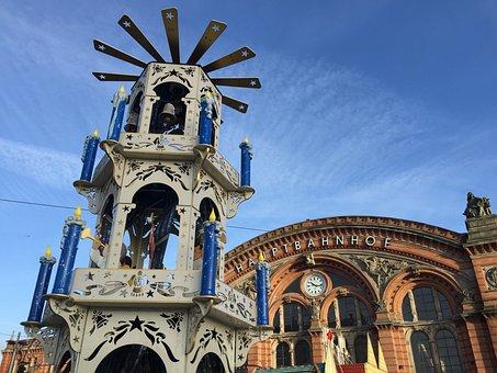 Bremen, Central Station, Hanseatic City