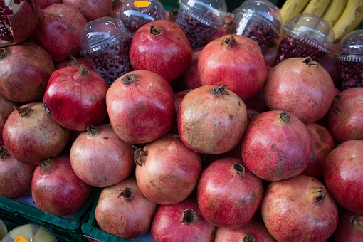 Pomegranates, Christmas Market, Advent, Christmas